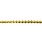 Patterned Wire - Brass - Flower #1 14 gauge - 6 inches