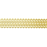 Patterned Wire - Brass - Lacy Filigree 20 gauge Dead Soft - 6""