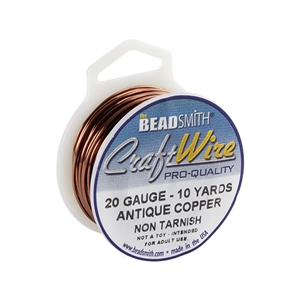 Vintage Copper Wire - 24 gauge