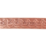 Patterned Strip - Copper - Gallery #1 - 6 inches