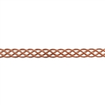Patterned Wire - Copper - Knotted Rope 22 gauge Dead Soft - 6""