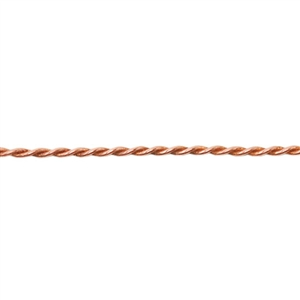 Patterned Wire - Copper Rope #2 - 6 inches