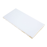 "Ceramic Tile Work Surface - White 3"" x 6"""