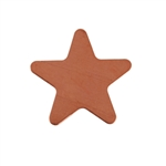 Copper Shape - Star - 24 gauge