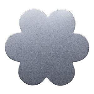Nickel Shape - Flower - 24 gauge