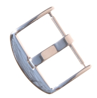 High Polish Thumbnail Tang Buckle - Springbar attachment for Panerai Straps / Band 22mm, 24mm, 26mm
