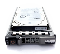 "Part# 04DDFP Original Dell 2TB (2000GB) 7200 RPM 2.5"" 12Gb/s 512e SAS"
