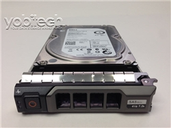 Dell - 4TB 7.2K RPM SAS HD -Mfg # 0DTK38
