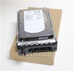 "0KX761 146GB 15000 RPM 3.5"" SAS hard drive. (these are 3.5 inch drives)"