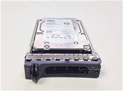"0T349H Original Dell 500GB 7200 RPM 3.5"" SAS hot-plug hard drive. (these are 3.5 inch drives) Comes w/ drive and tray for your PE-Series PowerEdge Servers."