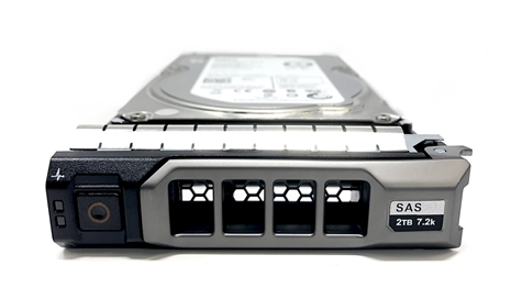 "0VYRKH Original Dell 2TB 7200 RPM 3.5"" SAS hot-plug hard drive. (these are 3.5 inch drives) Comes w/ drive and tray for your PE-Series PowerEdge Servers."