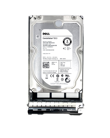 "1P7DP Original Dell 2TB 7200 RPM 3.5"" SAS hot-plug hard drive. (these are 3.5 inch drives) Comes w/ drive and tray for your PE-Series PowerEdge Servers."