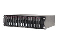 HP Storageworks  302969-B21 MSA30 Modular San Array 3-U single-bus rackmountable enclosure, supports 14-bay. Pre-Owned, excellent condition with 6 month warranty. We carry stock, ship same day