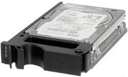 "Part # 340-7897  73GB 10000 RPM 80-Pin Hot-Swap 3.5"" SCSI hard drive. 