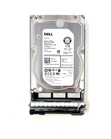 "342-1020 Original Dell 2TB 7200 RPM 3.5"" SAS hot-plug hard drive. (these are 3.5 inch drives) Comes w/ drive and tray for your PE-Series PowerEdge Servers."
