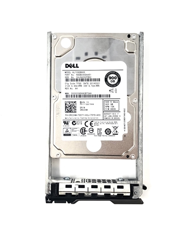 "Dell OEM 3rd-Party Kits - Mfg Equivalent Part # 342-2976 Dell 900GB 10000 RPM 2.5"" SAS hard drive."