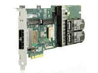 381513-B21 HP Smart Array SAS (serial attached SCSI) P800 512MB BBWC 16-channel controller.  New factory retail box with 3 year warranty. We carry stock