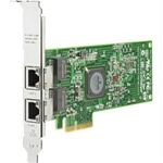 HP 458492-B21 NC382T PCI Express Dual Port Multifunction Gigabit Server Adapter Network adapter - PCI Express x4 - 2 ports