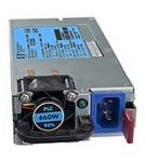 HP 503296-B21 460W Single HE 12V Hot Plug AC Server Power Supply Kit .  New factory retail box.