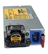 HP 512327-B21 750W Common Slot High Efficiency Power Supply Kit .  New factory retail box.
