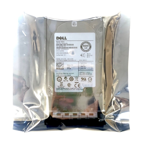 "Dell OEM 3rd-Party Kits - Mfg Equivalent Part # 5R6CX Dell 600GB 10000 RPM 2.5"" SAS hard drive."
