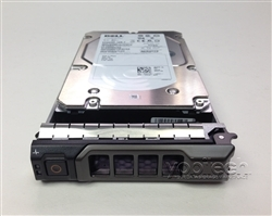 "7YTKM Original Dell 500GB 7200 RPM 3.5"" SAS hot-plug hard drive. (these are 3.5 inch drives) Comes w/ drive and tray for your PE-Series PowerEdge Servers."
