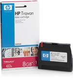 HP C4425A 8GB TR-4 Travan Data Cartridge 4GB Uncompressed/8GB Compressed TR-4 Travan Tape Cartridge. New factory sealed. Genuine HP!