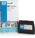 HP C4435A 20GB TR-5 Travan Data Cartridge 10GB Uncompressed/20GB Compressed TR-5 Travan Tape Cartridge. New factory sealed. Genuine HP!