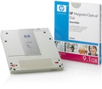 HP C7983A Media 7A 9.1GB Rewritable Magento Optical 4096 B/S. New factory sealed. Genuine HP!