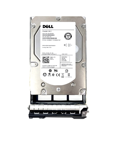 "Mfg Equivalent Part # F617N  Dell 300GB 15000 RPM 3.5"" SAS hard drive. (these are 3.5 inch drives)"