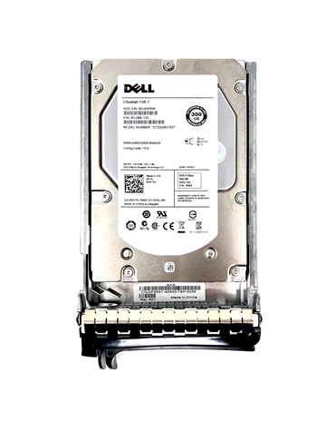 "Dell Mfg Equivalent Part # GG71D Dell 300GB 15000 RPM 3.5"" SAS hard drive. (these are 3.5 inch drives)"