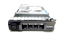 "Part# HYB-PE1.2TB10K3.5-38F - Original Dell 1.2TB 10000 RPM 3.5"" SAS hot-plug hard drive installed into hybrid kit.  (these are 2.5 inch drives that includes convertors and 3.5""  trays for installation into 3.5"" slots )"