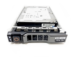 "Dell PE1.8TB10K2.5-G 1.8TB 10000 RPM 2.5"" SAS 6Gb/s 512e Hard Drive"