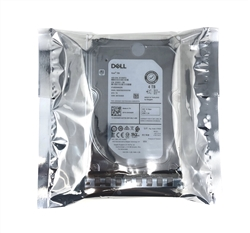 "Part# PE4TB7.2K3.5-GEN14- Original Dell 4TB 7200 RPM 3.5"" 12Gb/s SAS hot-plug hard drive"