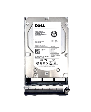 "Dell OEM 3rd-Party Kits - Mfg Equivalent Part # R752K Dell 600GB 10000 RPM 3.5"" SAS hard drive."