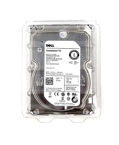 Seagate SAS 1TB 7200RPM SAS 3.5-Inch HD  Mfg # ST1000NM0001