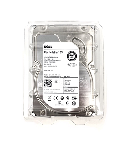 "Seagate ST500NM0001 500GB 7.2K 6gbps 3.5"" SAS Enterprise Hard Drive"