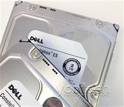 "W350K Original Dell 2TB 7200 RPM 3.5"" SAS hot-plug hard drive. (these are 3.5 inch drives) Comes w/ drive and tray for your PE-Series PowerEdge Servers."