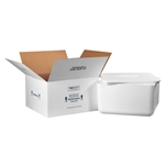 FIS C250 Foam Insulated Shipping Boxes 17x17x9