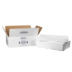 FIS C260 Foam Insulated Shipping Boxes 19.5x11.5x4