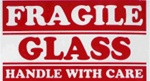 LBL 1284 Fragile Glass Label