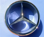 Grille Star for Mercedes 190SL Convertible  121Ch.