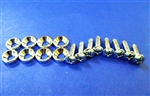 Chrome Grille Screw Kit for Mercedes 230SL 250SL 280SL, 190SL, 300SL Gullwing & Roadster