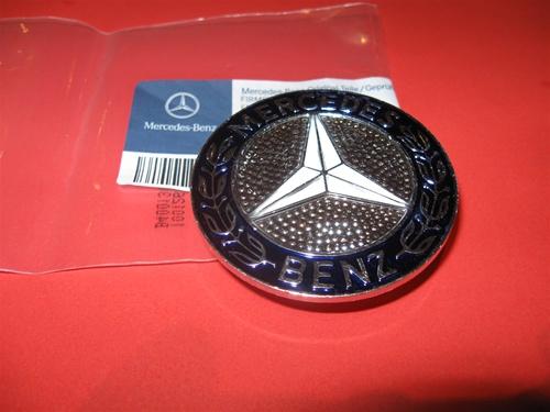 Mercedes 107 126 Ch Hood Emblem 380sl 450sl 500sl C 560sl