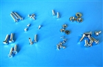 Chrome Screw / Hardware kit for 190SL with standard Seats -  387 Pieces