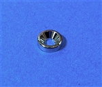 Chrome Plated Heavy Countersunk Washer - 4 x 11 x 3, for Grille, etc