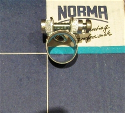 NOS Original Screw type Hose Clamp - 13mm size