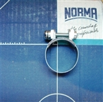 NOS Original Screw type Hose Clamp - 22mm x 9mm width
