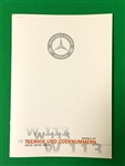 Mercedes 230SL - 250SL - 280SL Option Code & Reference Book - In German