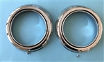 Sealed Beam type Headlight Trim Ring for Mercedes 190SL - 121Ch.